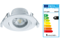 Mobile Preview: SHADA LED Deckenspot 30° schwenkbar, Farbe weiß, mit LED warmweiss 2700k, 360lm, 5 Watt dimmbar EEC: A+ (800549)