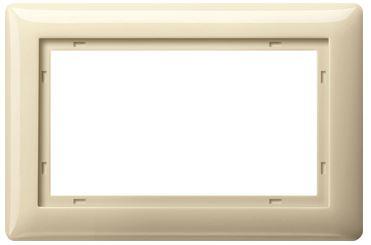 elektromaterial g nstig kaufen auf temo gira 100101 system 55 rahmen standard 55. Black Bedroom Furniture Sets. Home Design Ideas