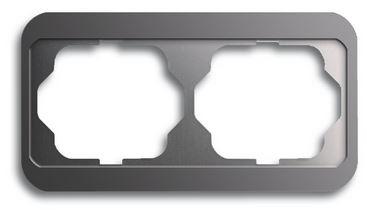 elektromaterial g nstig kaufen auf temo busch j ger 1722 20 rahmen 2 fach. Black Bedroom Furniture Sets. Home Design Ideas