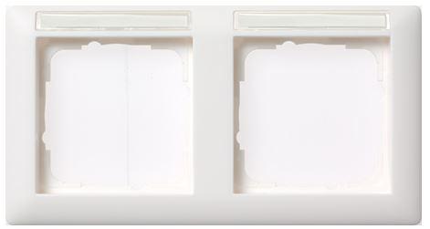 elektromaterial g nstig kaufen auf temo gira 109203 system 55 rahmen 2 fach. Black Bedroom Furniture Sets. Home Design Ideas