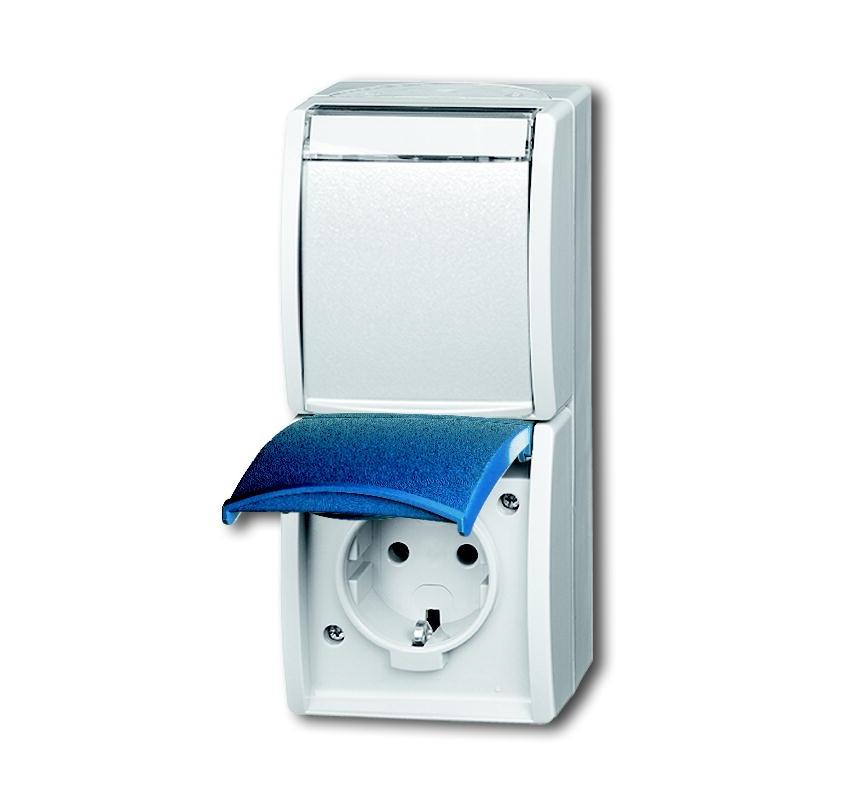 elektromaterial g nstig kaufen auf temo busch jaeger 20 02ewn 53 schuko steckdose 2. Black Bedroom Furniture Sets. Home Design Ideas