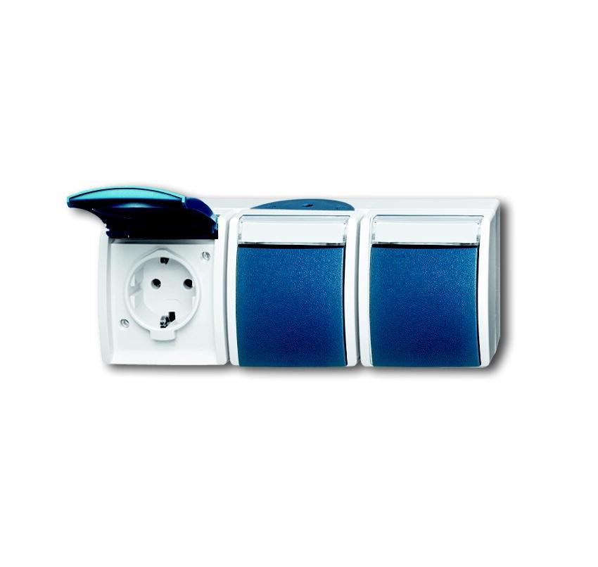 elektromaterial g nstig kaufen auf temo busch jaeger 2300 3ewn 53 steckdose 3 fach. Black Bedroom Furniture Sets. Home Design Ideas