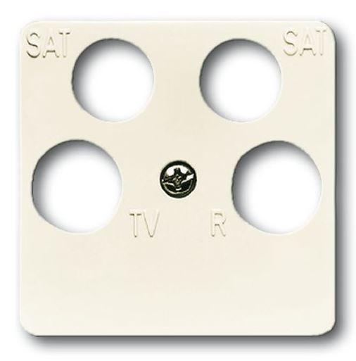 elektromaterial g nstig kaufen auf temo busch jaeger 1743 10 04 212 zentralscheibe. Black Bedroom Furniture Sets. Home Design Ideas