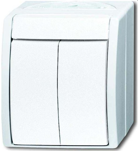 elektromaterial g nstig kaufen auf temo busch jaeger 2601 5 w 54 wippschalter. Black Bedroom Furniture Sets. Home Design Ideas