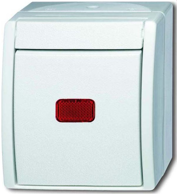 elektromaterial g nstig kaufen auf temo busch jaeger 2601 6skw 54 kontrollschalter. Black Bedroom Furniture Sets. Home Design Ideas
