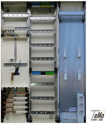 Elektromaterial Gunstig Kaufen Auf Temo Elektro De Hager Zahlerschrank 1 Zahlerfeld 1 Verteilerfeld 1 Multimediafeld Zb33nw