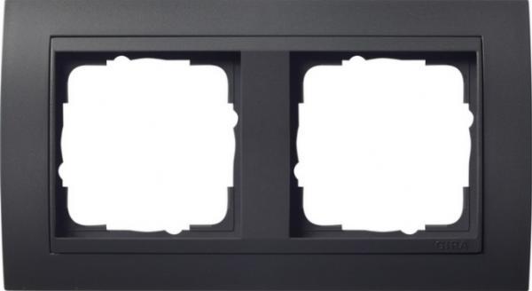 elektromaterial g nstig kaufen auf temo gira system 55 anthrazit rahmen event 2. Black Bedroom Furniture Sets. Home Design Ideas