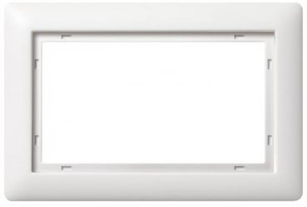 elektromaterial g nstig kaufen auf temo gira 100104 system 55 rahmen standard 55. Black Bedroom Furniture Sets. Home Design Ideas