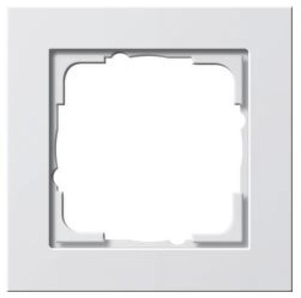 elektromaterial g nstig kaufen auf temo gira 021129 system 55 rahmen 1 fach e2. Black Bedroom Furniture Sets. Home Design Ideas