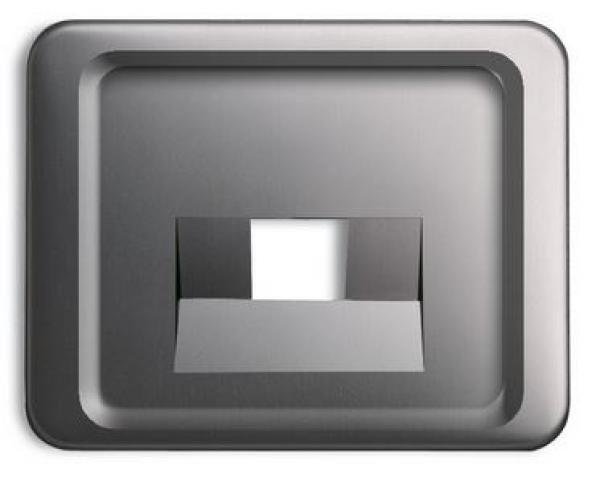 elektromaterial g nstig kaufen auf temo busch j ger 1803 20 zentralscheibe alpha platin. Black Bedroom Furniture Sets. Home Design Ideas