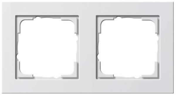 elektromaterial g nstig kaufen auf temo gira 021229 system 55 rahmen 2 fach e2. Black Bedroom Furniture Sets. Home Design Ideas