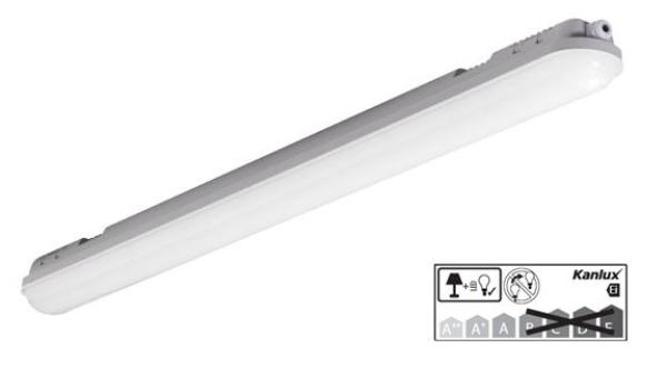 LED Feuchtraumleuchte IP65 MAH-LED N 40W-NW/PC (22604)