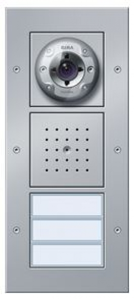 elektromaterial g nstig kaufen auf temo gira 127065 t rstation video ap 3 fach. Black Bedroom Furniture Sets. Home Design Ideas