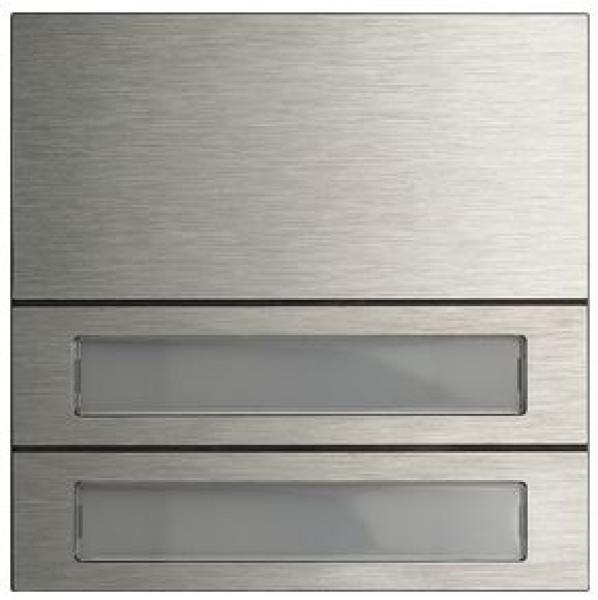 elektromaterial g nstig kaufen auf temo gira 5532920 system 106 ruftastenmodul 2. Black Bedroom Furniture Sets. Home Design Ideas