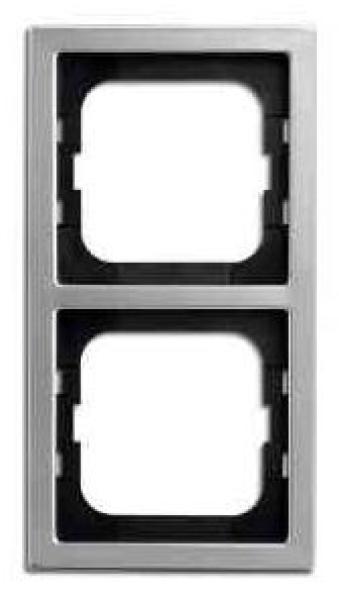 elektromaterial g nstig kaufen auf temo busch jaeger 1722 866k rahmen 2 fach pur. Black Bedroom Furniture Sets. Home Design Ideas